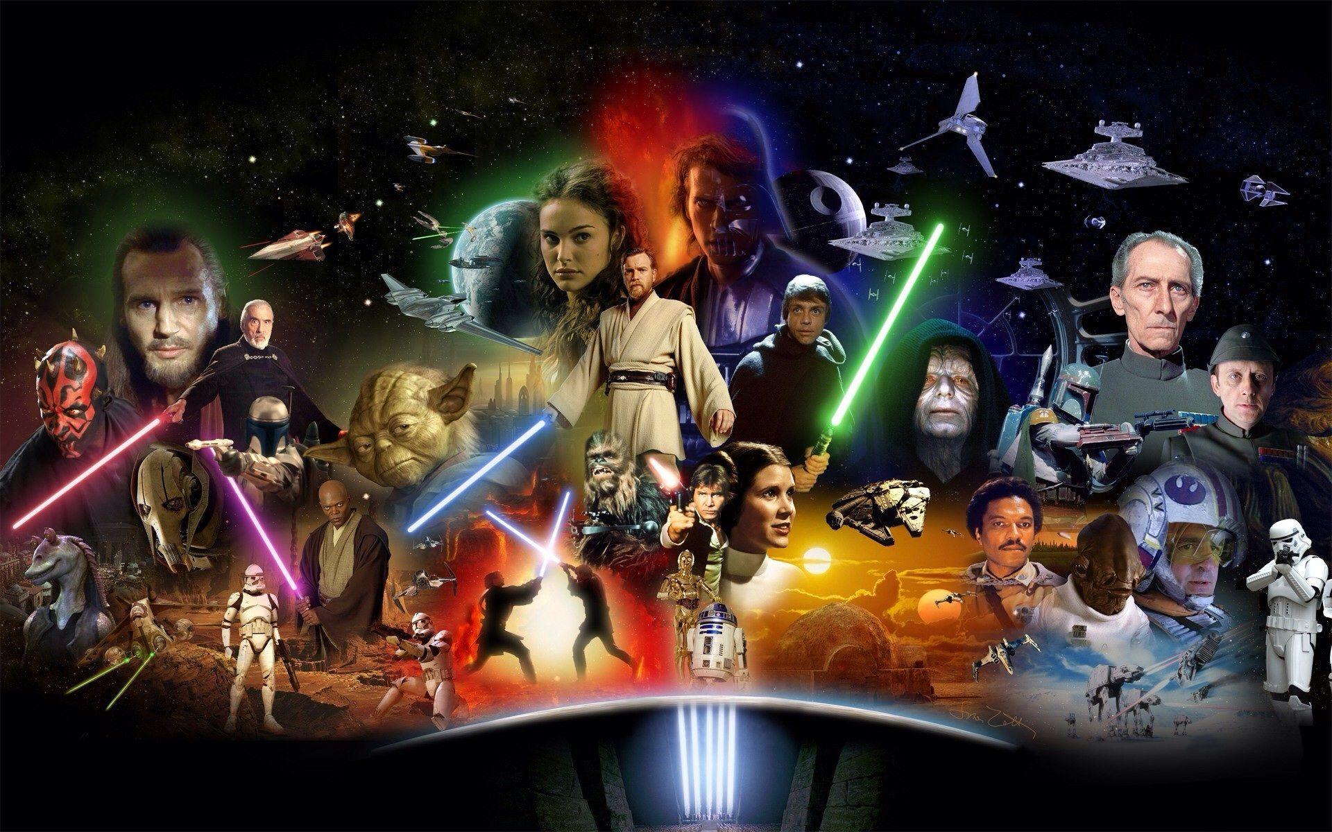 بهترین ترتیب برای تماشای جنگ ستارگان