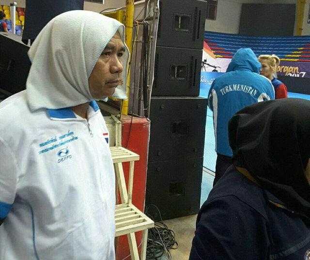 از عجایب حجاب بانوان ورزشکار