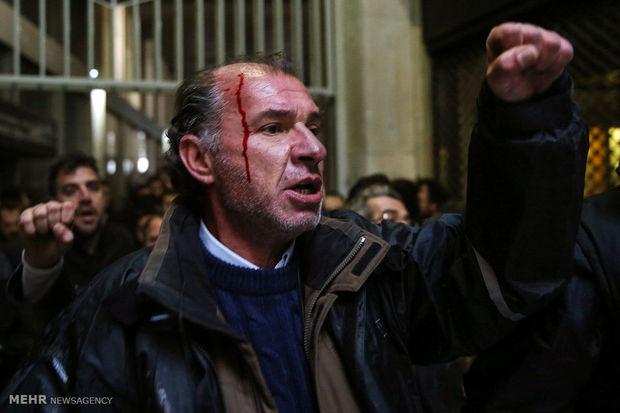 خشونت اعتراضات