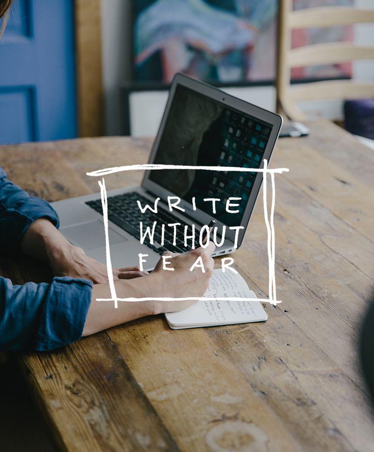 ترس در نوشتن