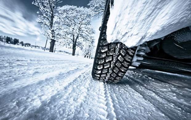 #رانندگی در برف#ایمن_سازی#ساینایعسوبی