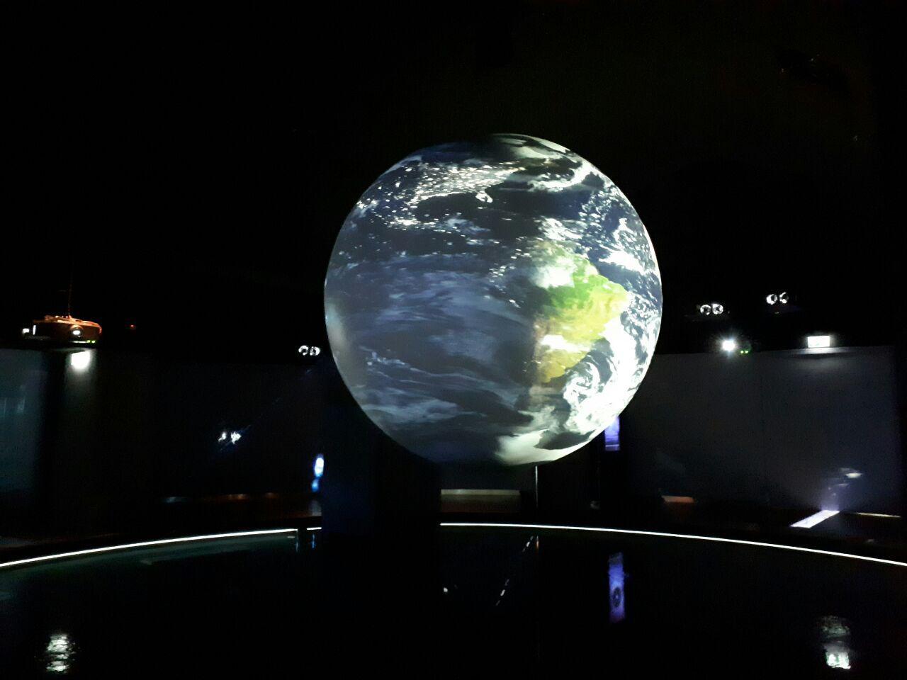 فیلم سه بعدی برای معرفی آب در کهکشان