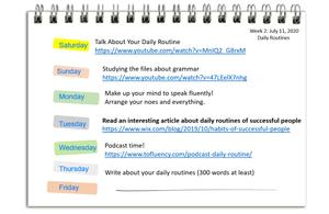 Daily Routine in English - Let's Talk About Them