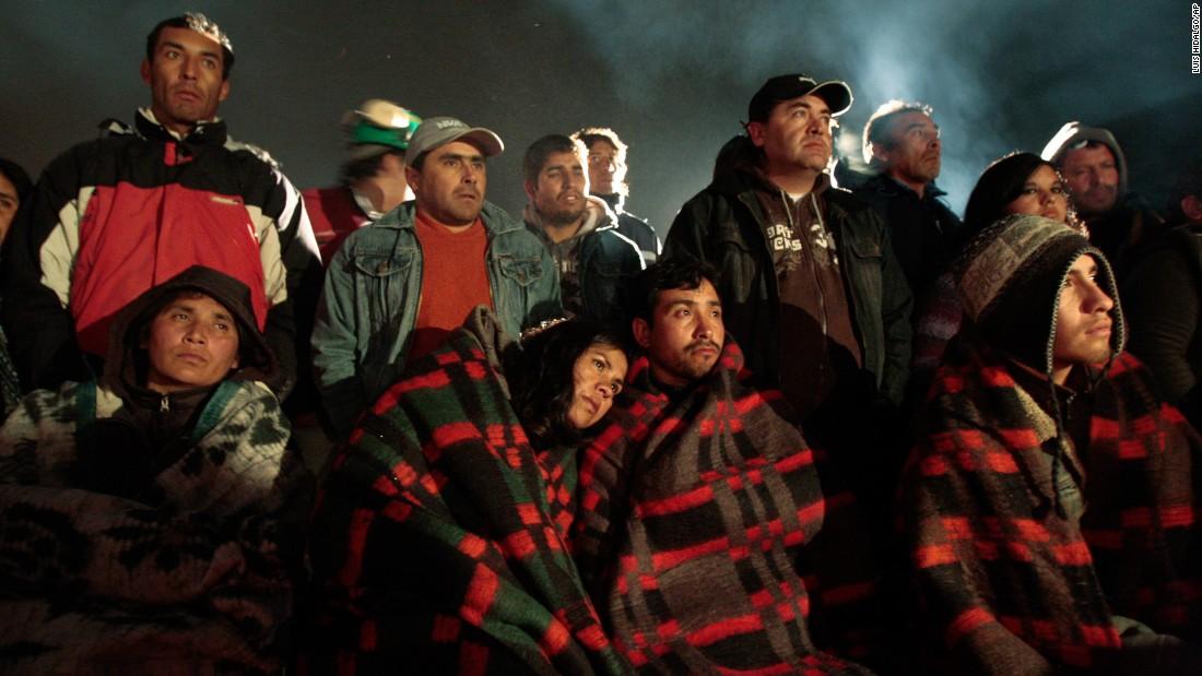 نجات کارگران معدن در اصفهان