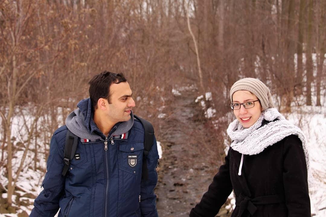 این عکس هدیهام به این زوج دوستداشتنی بود که سالهاست مایه آرامشاند. (لندن، کانادا)