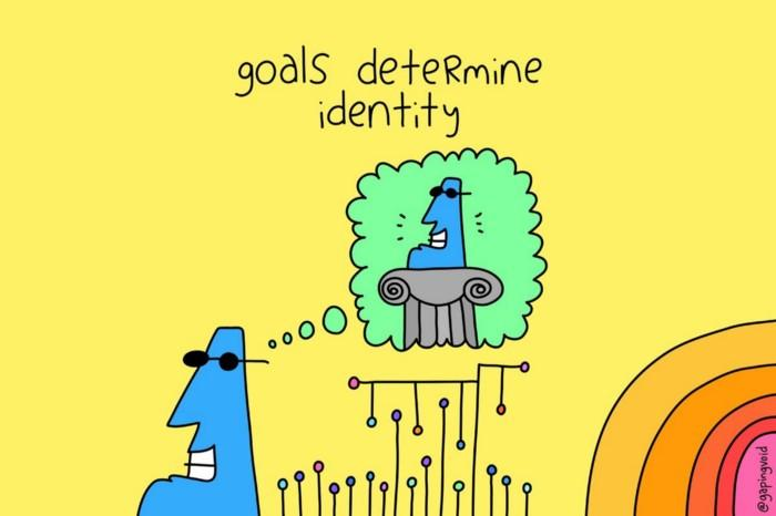 هدفها هویت ما را تعیین میکنند