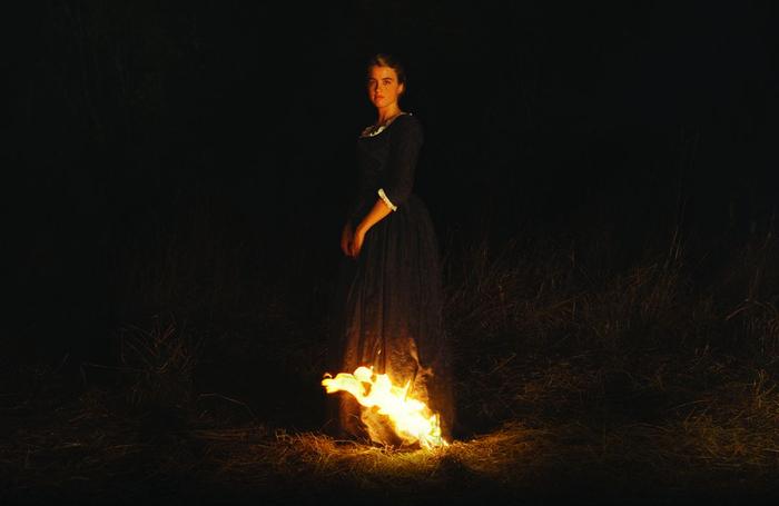 پرتره زنی در آتش - نقاشی زیبا و یگانه