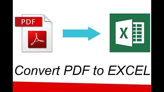 آموزش تبدیل فایل Pdf به Excel