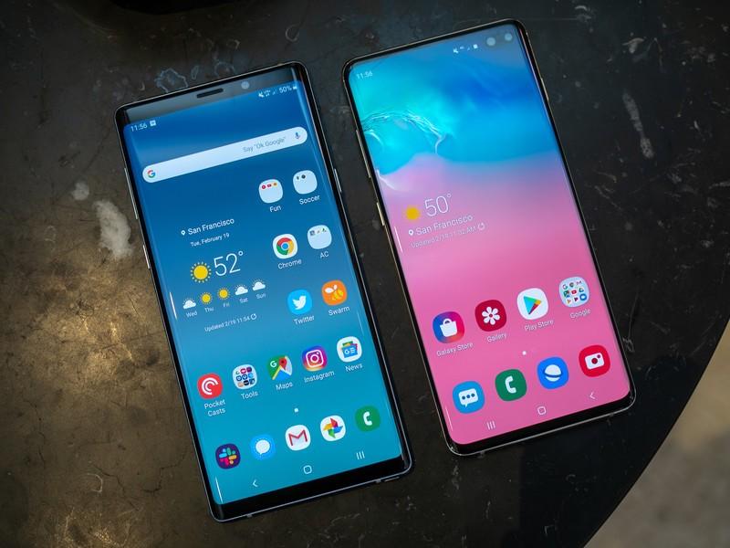 تفاوت بین گوشی های نوت 9 و نوت 10