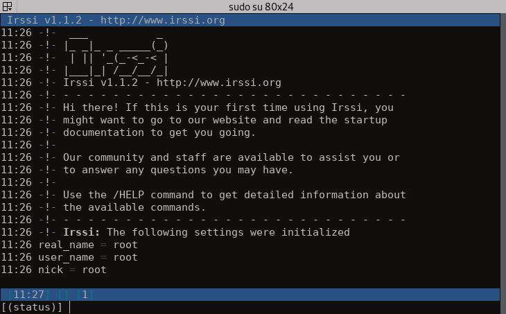 آموزش کار با IRC(قسمت اول)