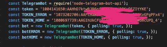 نوشتن بات تلگرام با node js