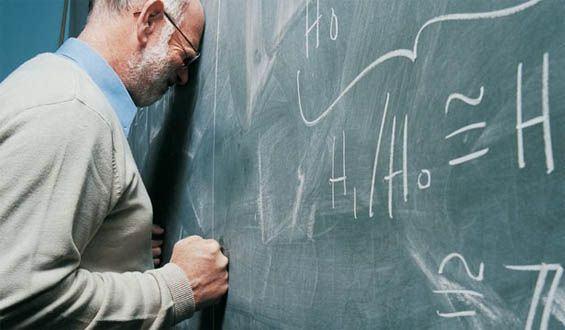 خسته از تدریس