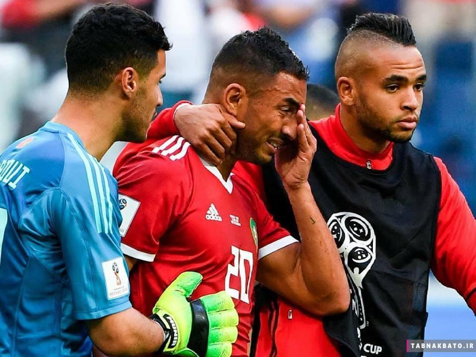 عزیز بوهدوز، بازیکن مراکشی که گل به خودی را زد