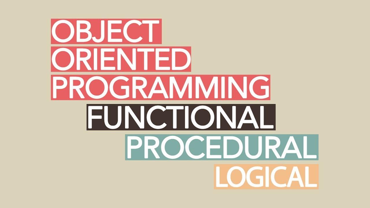 پارادایم های برنامه نویسی به زبان ساده