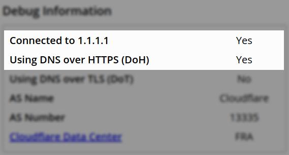 درباره DoH: دیاناس + HTTPS