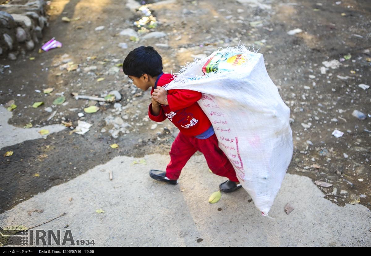 شهران-تهران برای خیلی از ما فقر به اندازهی چیزی که در این تصویر میبینیم ازمان دور است.