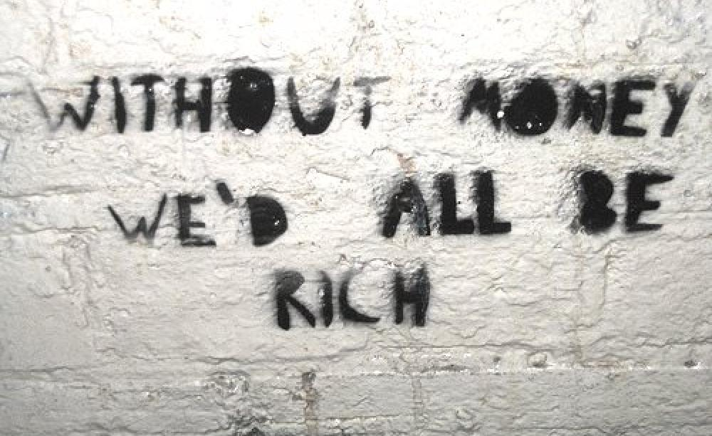 بدون پول همه ما ثروتمندیم