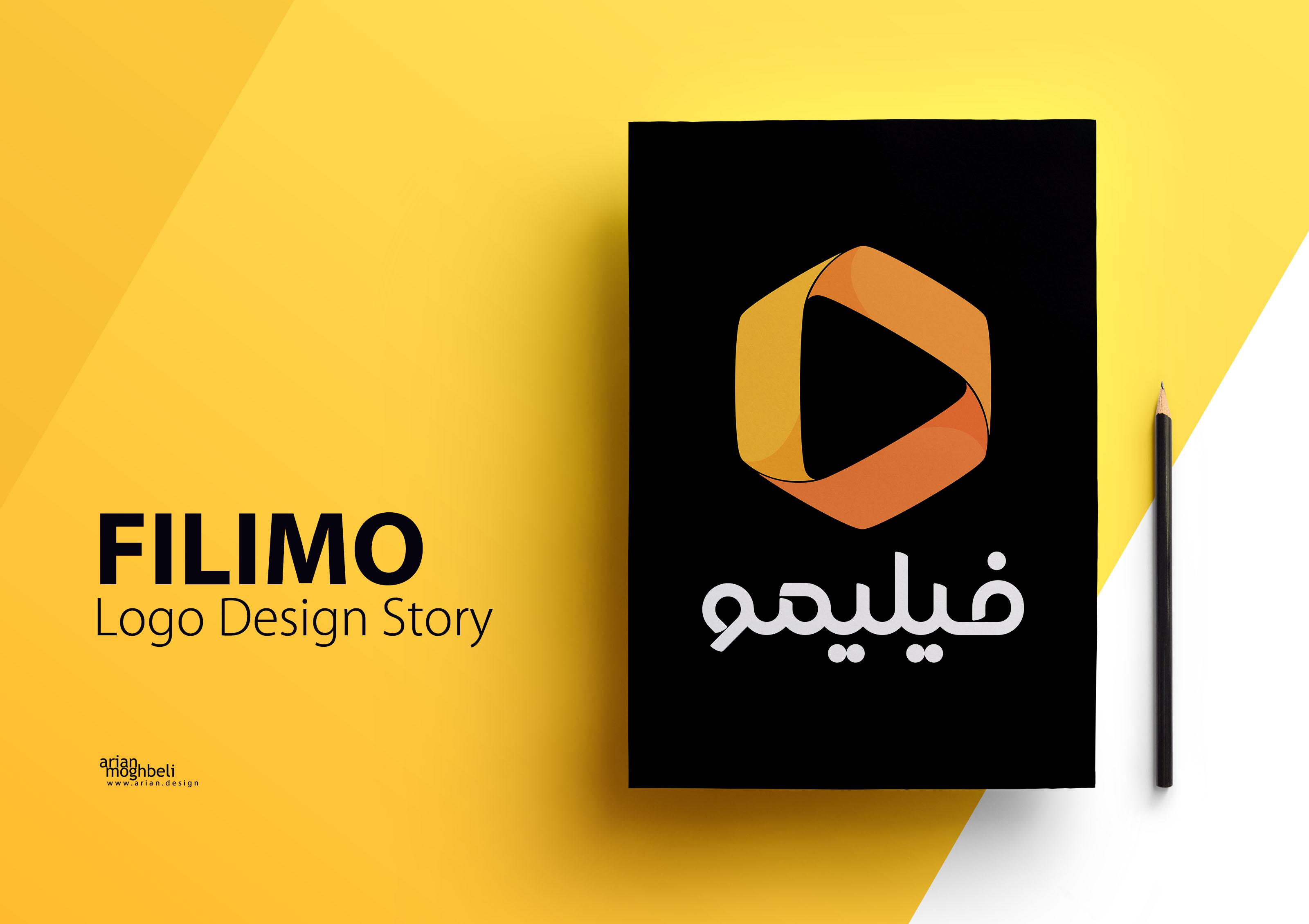 داستان طراحی لوگوی فیلیمو