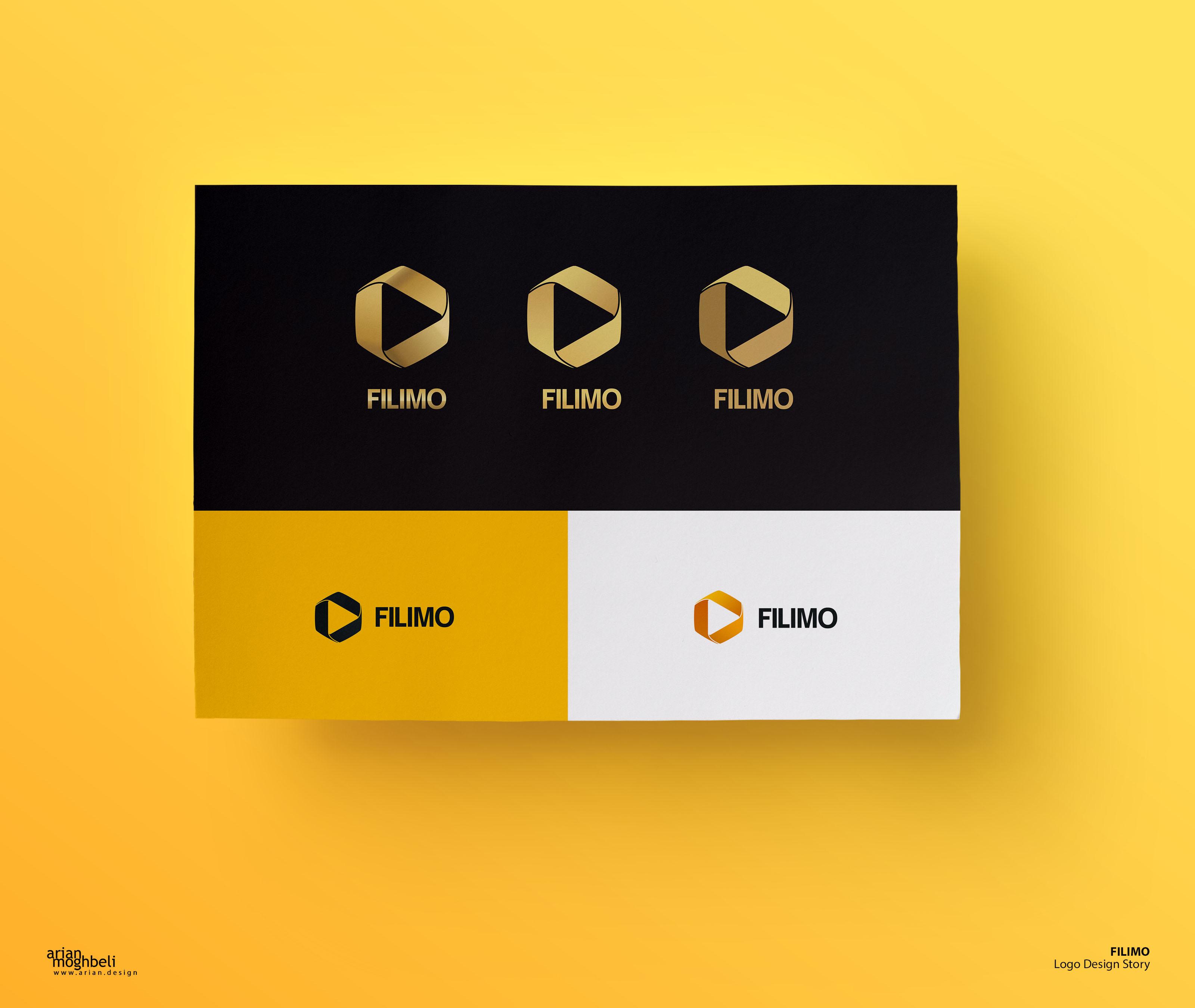 پیشنهاد پالت رنگی فیلیمو - طلایی در کنار زردنارنجی