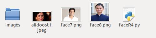 تشخیص چهره با پایتون