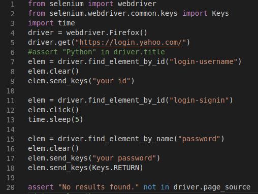 پرکردن خودکار فرم های وب با پایتون