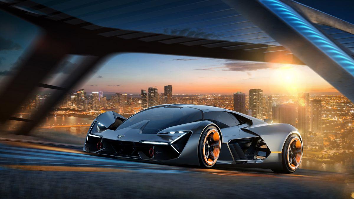 معرفی Terzo Millennio خودروی برقی لامبورگینی با قابلیت خود-بازساز!