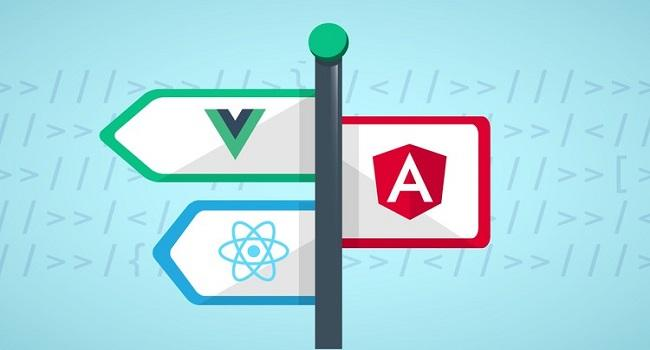 مقایسه reactjs ، angular و vuejs