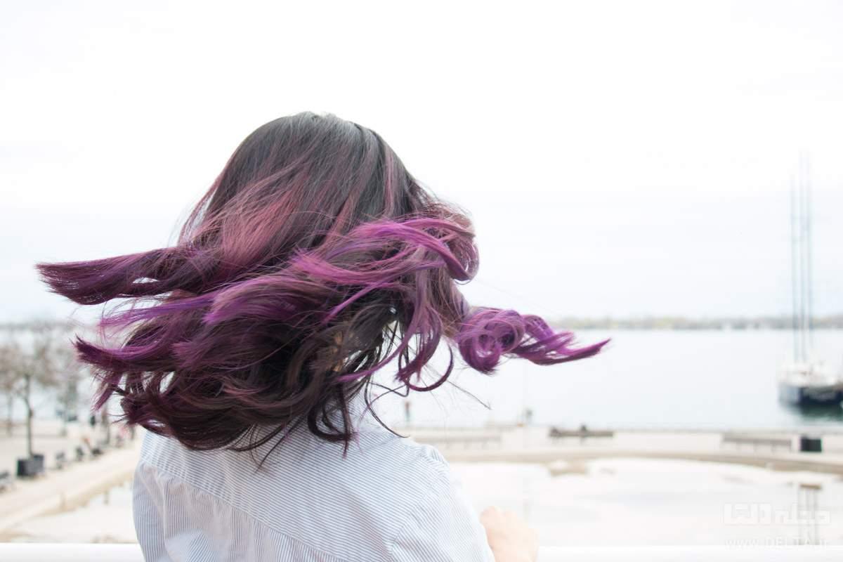 انواع بالیاژ مو دخترانه و زنانه