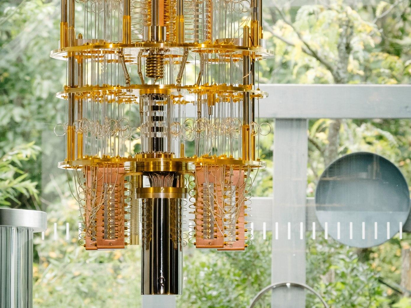 نمونه یک کوانتوم کامپیوتر