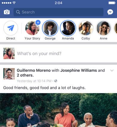استفاده از Monochromatic در هدر اپلیکیشن فیسبوک
