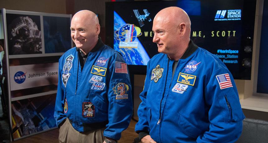 """چگونه یک سال زندگی در فضا بر سلامتی """"اسکات کلی"""" تأثیر گذاشت؟"""