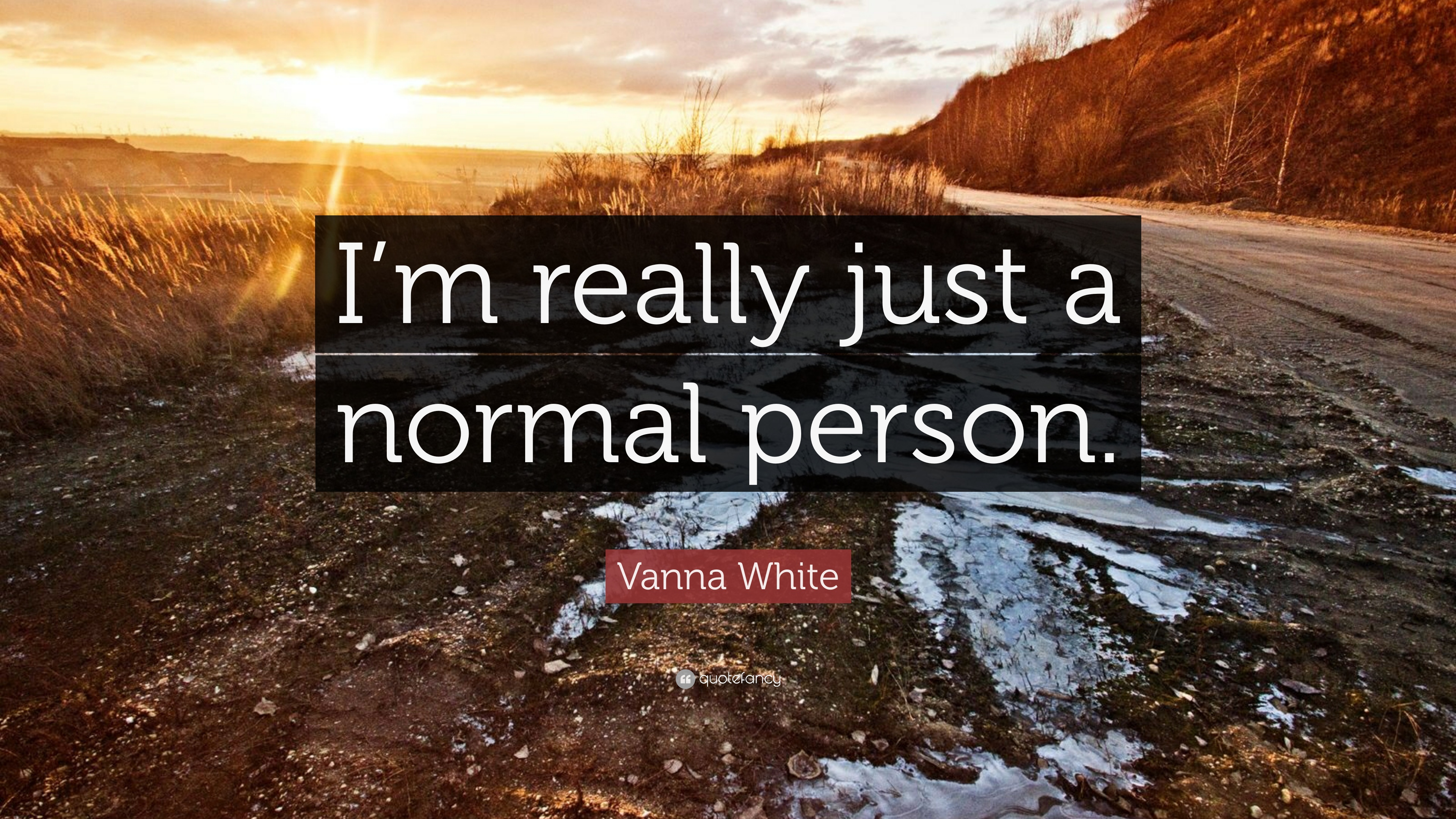 من معمولی ام...