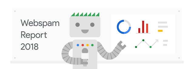 گزارش سرچ اسپم گوگل در سال ۲۰۱۸