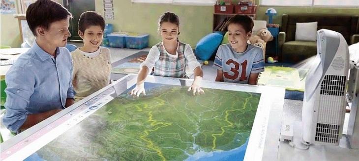 مدرسه هوشمند با ایده هایی از تکنولوژی های مدرن هوشمندسازی مدارس