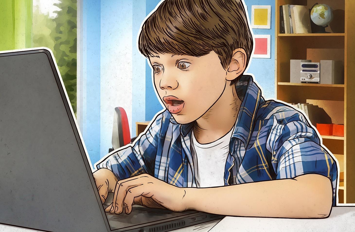 استفاده بیش از حد نوجوانان از فضای مجازی