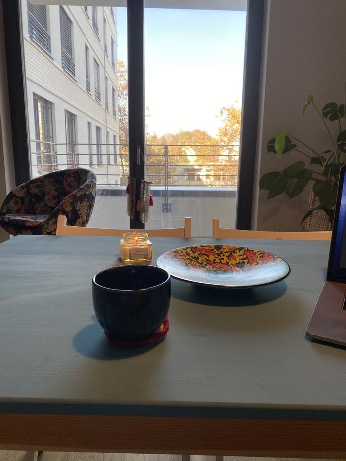 برگشت به روزمره نویسی و میز آبی