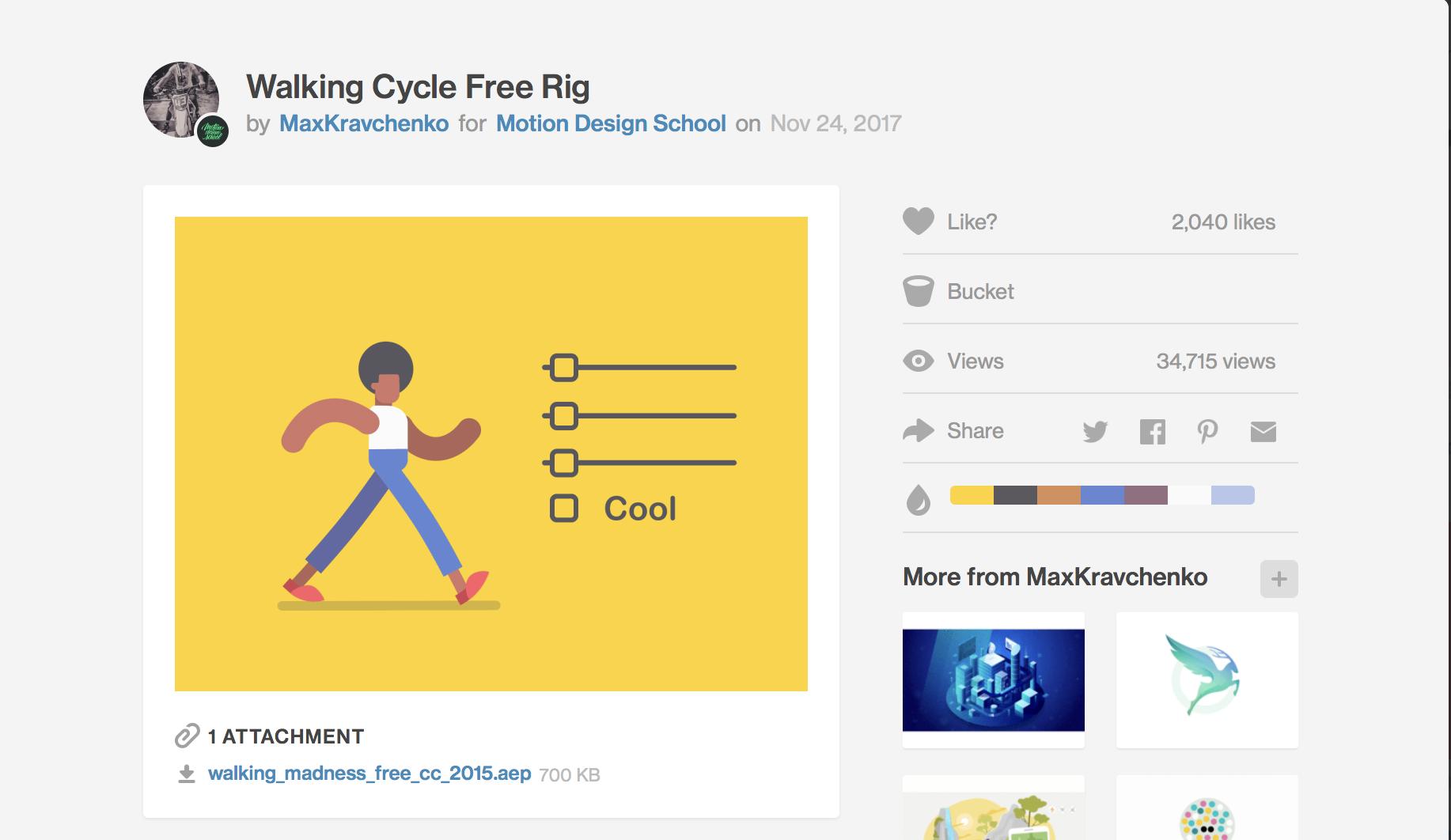 موشن دیزاین در طراحی رابط کاربری