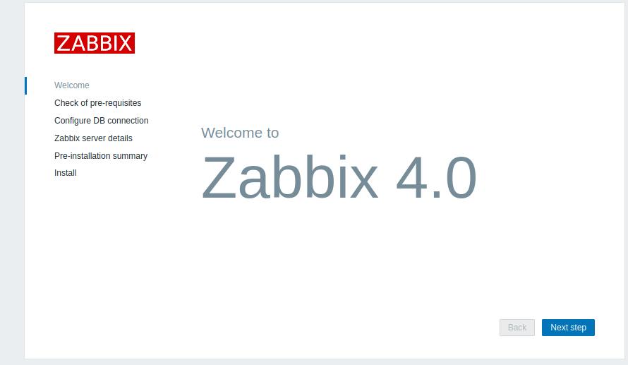 zabbix 4.0