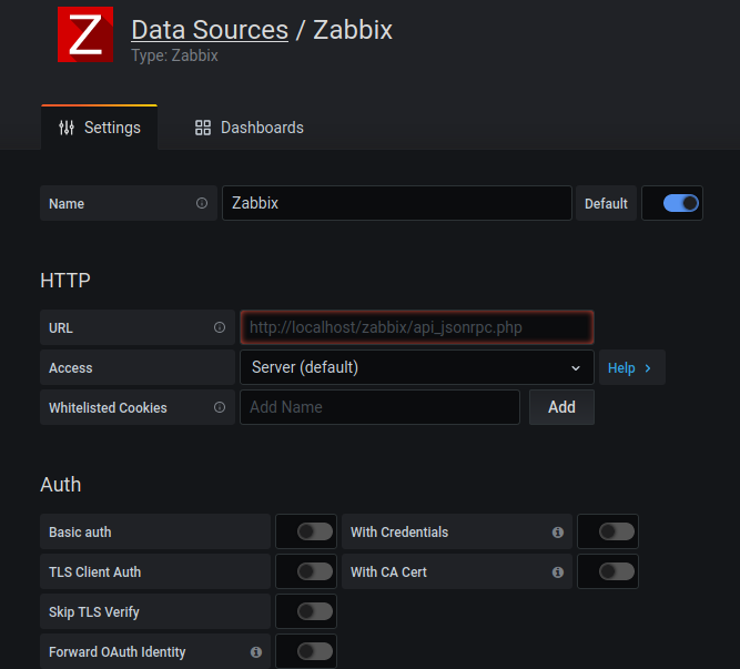 Configuring Grafana with Zabbix