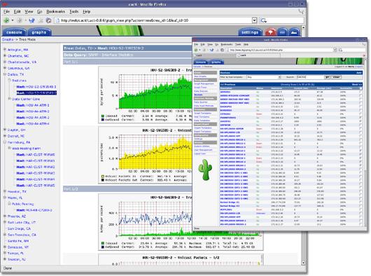 نصب نرم افزار مانیتورینگ Cacti در Ubuntu 16.04