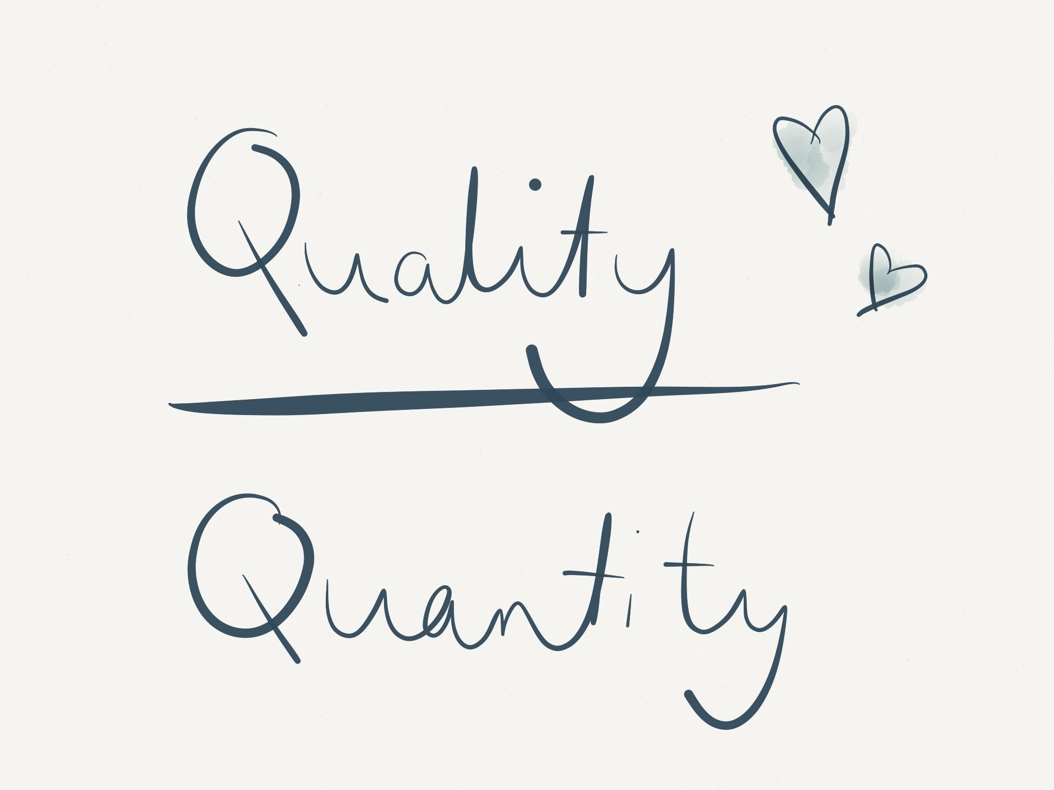 کیفیت یا کمیت؟ کدام در تولید محتوا مهمتر است؟