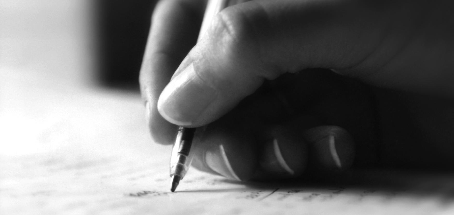 رنجهایی که ما را به نوشتن وا میدارد