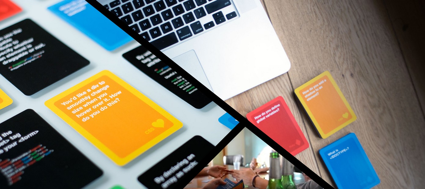 نسخهٔ چاپی یک بازی کارتی برای یادگیری کدنویسی