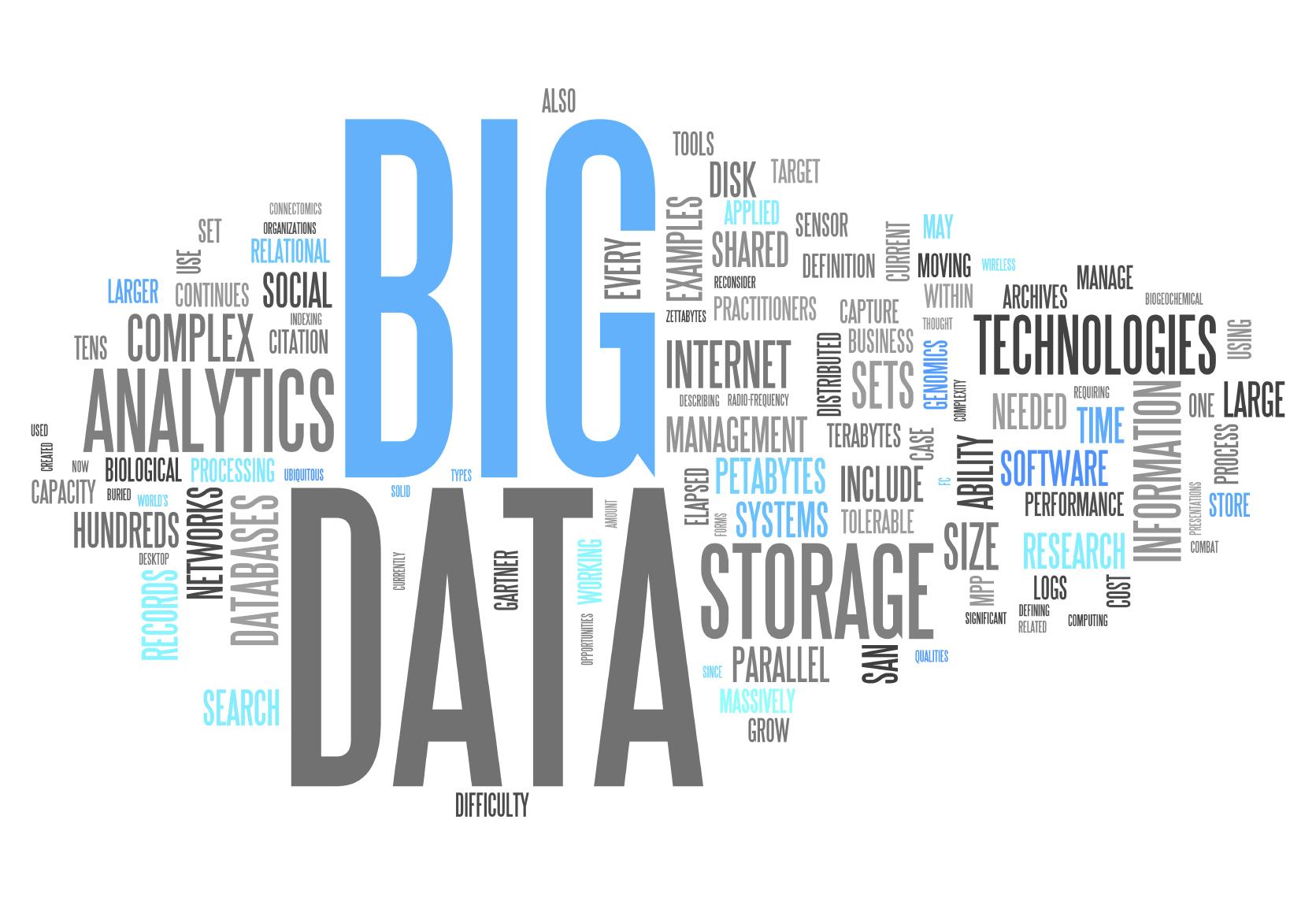 مثالهایی بر بیگدیتا (Big data)