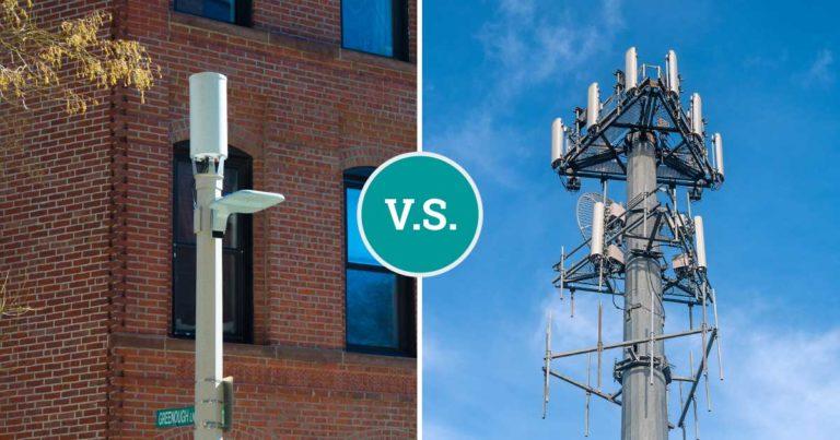 دکلهای اصلی و پایگاههای برد نزدیک 5G