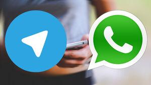 واتساپ از تلگرام جلو زد