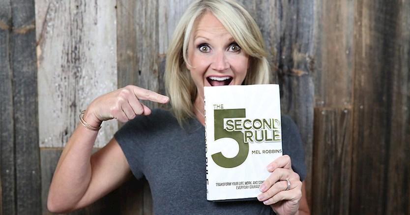 قانون 5 ثانیه مِل رابینز ( Mel Robbins )