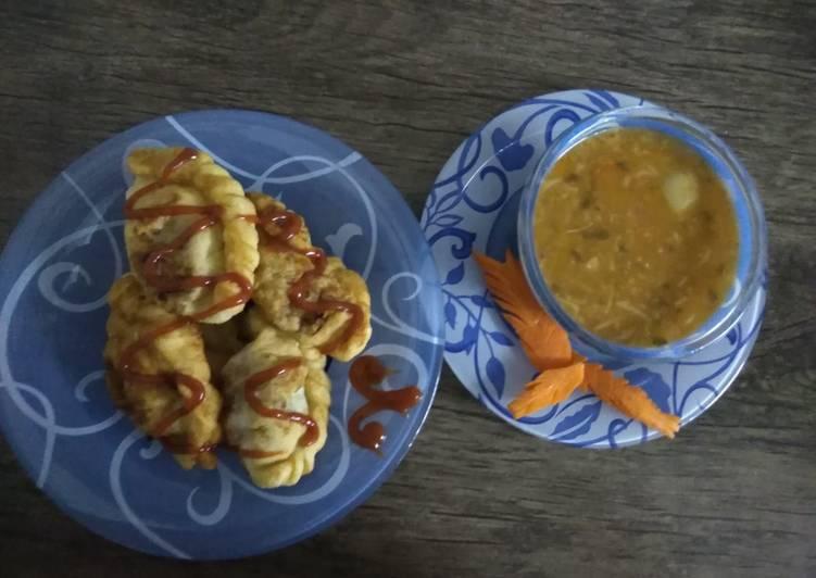 پیراشکی با سوپ