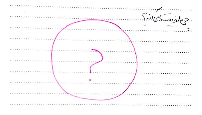 ۱-علامت سوال جادویی: ' )