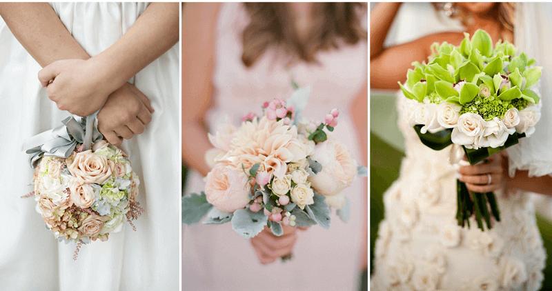 ۷ نکته برای انتخاب دسته گل عروس